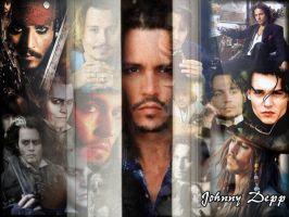Johnny Depp wallpaper by LestatsLittleClaudia