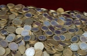 Euro Coins 3 by Gwendolyn12-stock