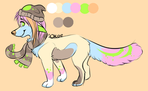 .:Taken:. Canine Adoptable by Okoe