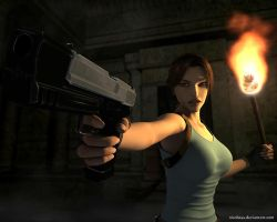 Lara Croft64 by Nicobass
