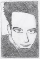 Robert Smith Drawing 04 by XxWeirdOxX