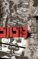 Golgo 13 poster by bluepen731