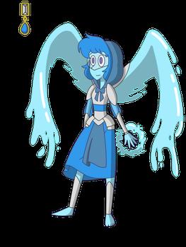 Steven Universe: Lapis Lazuli - Silver Armor by SoutenKyoukori
