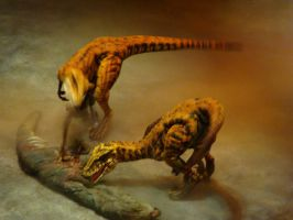 Utahraptor by Jeepers133