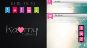 Orbs Colours Pack by kamysweet