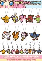 Digimon Acrylic Goodies by MoogleGurl