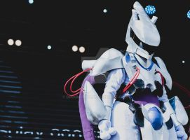 Armoured MewTwo by droumerda