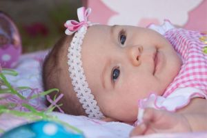 Babys first Easter by NicoleBrune