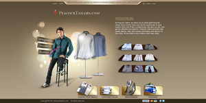 men clothes layout by REDFLOOD