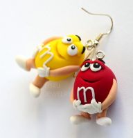 MM's earrings by Lovely-Ebru