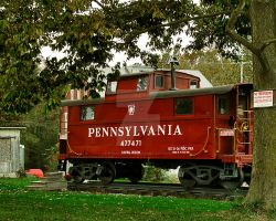Pennsylvania Caboose by Ryan-Warner
