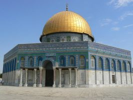 Dome of the rock by IronMantis