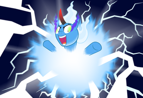Power overwhelming by AbyssalEmissary