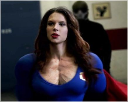 Pecs of a Heroine by SuperGirlStrength