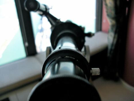 Telescope Close Up by rubberduck354