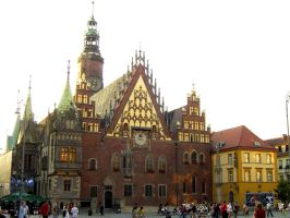 Wroclaw Poland by G-Unit23Stock
