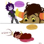 Tavros: Question Gamzee by cagali101