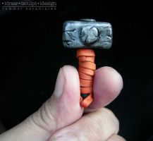 Mighty Thor's Hammer by Dinuguan
