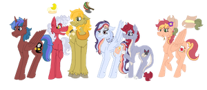 Mane Cast: MLP NG: Expectations by Radioactive-Cryptid