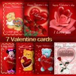 Valentine cards 1 by roula33