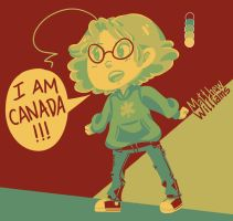 I am Canada! by jackzarts