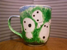 DIY Kodama mug side 2 by steady-vertigo