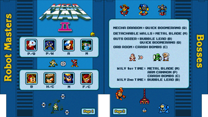 Mega Man 2 NES Cheat Sheet by Moelleuh