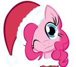 Merry Christmas Pinkie Pie Vector by TheMightySqueegee