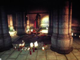 my lair in Oblivion game by ShadeOvWarlock