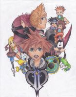Kingdom Hearts II by KimPossible24