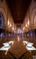 King Hassan Mosque II:Hallway by Mgsblade