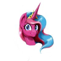 A portrait of Queen Harmony! by Maiko-of-Harmony