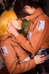 Shingeki no Kyojin: Just we two togehter by Mangestu001