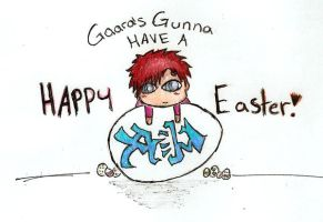 Gaara's Easter by CarleyLyn
