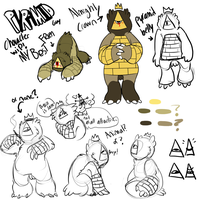 Pyramid Guy Wip by HauntedHomo