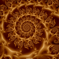 Golden Dawn Spiral by fraxialmadness3