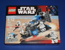 LEGO Star Wars 7667 - Imperial Dropship by GTS978