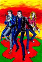 Doctor nine and companions by the-ChooK