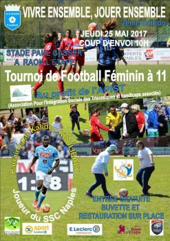tournoi foot feminin a 11 .  by blackcrowphoto