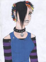 Visual Kei - colored by Panda-pon