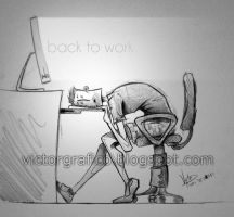 Back to work - Slice of life (13) by victorgrafico
