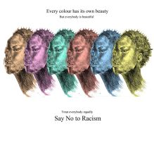 Say No to Racism by wondergunner