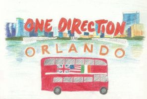 One Direction in Orlando T-shirt contest by balletpink100