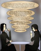 Itachi and Snape - Quandary by arriku
