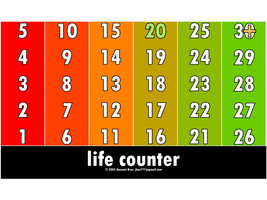 Life Counter by Quesnel Bros. by Jhas777