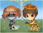 RS: Chibis Midna and Border by Tifa-Amakura