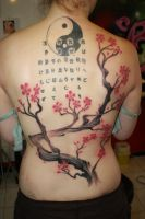 Cherry tree by SimplyTattoo