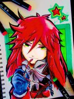 Grell Sutcliff by Silver-Artemis-Moon