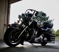 Harley Davidson FLHS stock 12 by pynipple