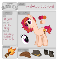 wv app: molotov cocktail by ivyhaze